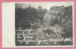 Belgique - YPERN - Carte Photo - Foto - Schützengraben - Tranchée - Soldats Tués - Feldpost - Guerre 14/18 - Ieper