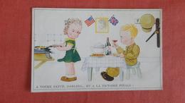 Votre Santa Darling Et A La Victorie Finale  US Military Free Cancel    Ref --2497