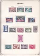 Belgique - Collection Vendue Page Par Page - Timbres Oblitérés / Neufs */** - B/TB - Belgium