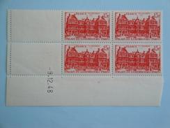 France  Yvert 804 **  - Coin Daté Du 9.12.48  Palais Du Luxembourg 15 F Rouge - 1940-1949