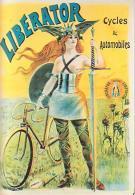 Vélo Moto    H18      Liberator Cycles & Automobiles ( Illustrateur Pal Jean De Paleologe ) - Cartoline