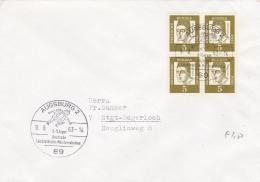 Germany Cover P/m Augsburg 1963 Deutsche Leichtathletik- Meisterschaften (T9A7)