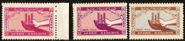Saudi Arabia 1963, Freedom From Hunger 3 Values MNH Saoudi Arabie