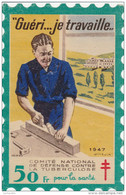 Grande Vignette 1947 - Format 8cm X 12cm - Pour Voiture, Vitrine, Etc... Bon état (Lot 72) - Commemorative Labels