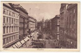 Wien Graben Postcard Travelled 1928 B170222 - Wien Mitte