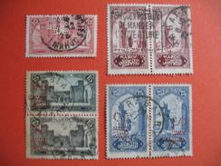 Perforé  Perfin Maroc,  Lot De Timbre Perforé De Perforation : S.M23   à Voir - Marokko (1891-1956)
