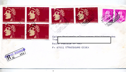 Lettre Recommandee Rodrigo Sur Roi Femme ? - Affrancature Meccaniche Rosse (EMA)