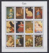 H32 Gambia - MNH - Animals - Cats