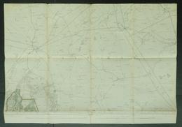 Topografische En Militaire Kaart STAFKAART 1911 Tilburg Hilvarenbeek Oisterwijk Boxtel Goirle Liempde Schijndel Maerle - Topographical Maps