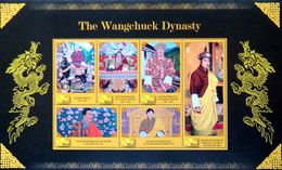 BHUTAN 2010 Wangchuk Dynasty MINIATURE SHEET M/S MNH