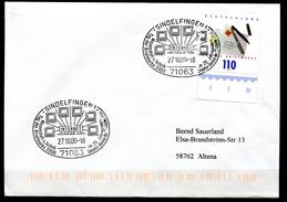 "Germany 2000 Sonderbeleg INTERNET Mit Mi.Nr.2148 U. SST""Sindelfingen-INTERNET-Wissenschaft U.Technik""1 Beleg"
