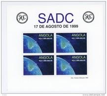 Angola-1999-SADC-Partie Du Globe-YT B61***MNH***MNH