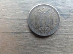 Espagne  1  Peseta  1944  Km 767 - [ 4] 1939-1947 : Gouv. Nationaliste