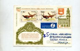 Carte Postale 10 Zl Eglise + Faisan