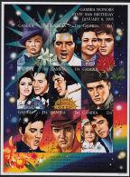 C5112 GAMBIA 1995, SG 1929-37 60th Birth Anniversary Of Elvis Presley,  MNH