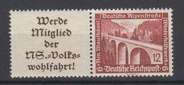 Deutsches Reich / Winterhilfswerk: Moderne Bauten / MiNr. 639