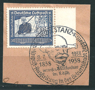 MiNr. 669 Briefstück, Sonderstempel: KONSTANZ (b30)