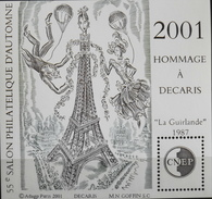 FR 2001 - CNEP N° 34 - Salon Philatélique Hommage à DECARIS - Neuf** - SUPERBE