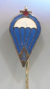 PARACHUTTING, PARATROOPER, INSTRUCTOR - Yugoslavia,  Vintage Pin, Badge, Abzeichen - Parachutting