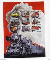 Mozambique 1999-Locomotives-YT 1401BM***MNH