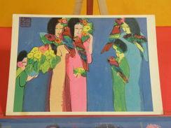 Cartes Postales > Thèmes > Arts > Peintures & Tableaux > Walasse Ting, Let's Have à Party - Non Circulé - Paintings
