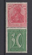 Deutsches Reich / Freimarken (Germania VIII), Freimarken Ziffern / MiNr. 145, 162