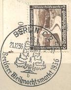 MiNr. 634 Briefstück, Sonderstempel: BERLIN C 2 (b30)