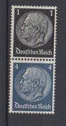 Deutsches Reich / Freimarken Paul Von Hindenburg Im Medaillon / MiNr. 512, 514