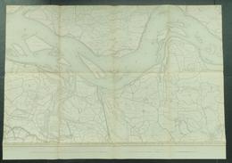 Topografische En Militaire Kaart STAFKAART 1911 Watervliet Terneuzen Biervliet Axel Sluiskil Hulst Kloosterzande Zeeland - Topographical Maps