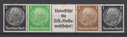 Deutsches Reich / Freimarken Paul Von Hindenburg Im Medaillon / MiNr. 512, 513, 515