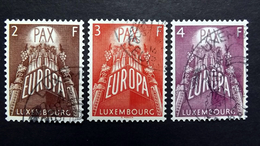 Luxemburg 572/4 Oo/used, EUROPA/CEPT 1957