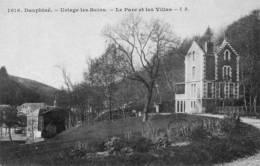 CPA - URIAGE (38) - Aspect Du Parc Et Des Villas Au Début Du Siècle