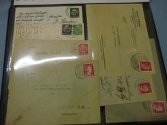 Album Sammlung Großes Lot DR Sudeten Stempel Briefe 100 Stück , Collection Letter Cover (10)