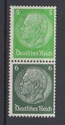 Deutsches Reich / Freimarken Paul Von Hindenburg Im Medaillon / MiNr. 515, 516