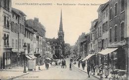 RUE NATIONALE PORTE DE BELLEVILLE - Villefranche-sur-Saone