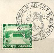 MiNr. 636 Briefstück, Sonderstempel: ERFURT (b31)