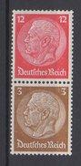 Deutsches Reich / Freimarken Paul Von Hindenburg Im Medaillon / MiNr. 519, 513