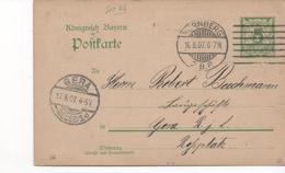 3108  Entero Postal Nurnberg 1907 Alemania,