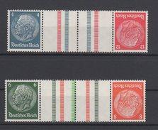 Deutsches Reich / Freimarken Paul Von Hindenburg Im Medaillon / MiNr. 519, 514, 516, 517