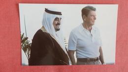 Crown Prince Fahd  Of  Saudi Arabia  With US President Reagan In Mexico  Ref --2497 - Saudi Arabia