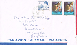 23395. Carta Aerea KITCHEMER (Ontario) Canada 1971
