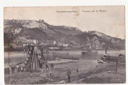 Engis: Hermalle-sous-Huy: Travaux Sur La Meuse. - Engis