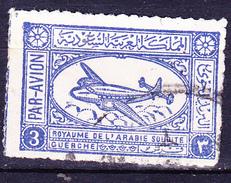 Saudi Arabien - Transportflugzeug (MiNr: 30) 1949 - Gest Used Obl