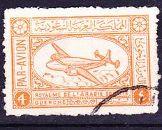Saudi Arabien - Transportflugzeug (MiNr: 31) 1949 - Gest Used Obl
