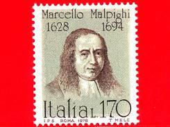 Nuovo - MNH - ITALIA - 1978 - Uomini Illustri - 6ª Emissione - Marcello Malpighi, Medico, Anatomista, Fisiologo - 170 L.