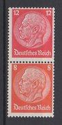 Deutsches Reich / Freimarken Paul Von Hindenburg Im Medaillon / MiNr. 517, 519