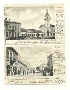2AK Storozynetz - Bukowina - Details - Gelaufen Um 1905 - Ukraine