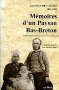 Mémoires D'un Paysan Bas Breton Par Déguignet (ISBN 286843178X EAN 9782868431783) - Bretagne