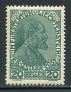 Liechtenstein  Sc#  10  MNH   1918 - Liechtenstein