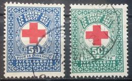 RED CROSS-SET-YUGOSLAVIA-1933 - Bienfaisance